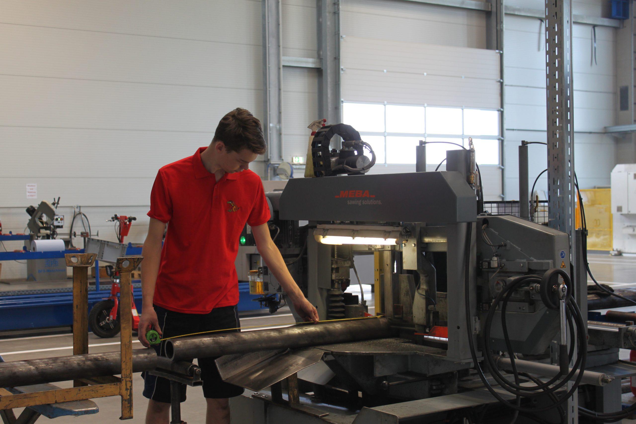 Lehrberuf Metalltechnik (m/w) mit Hauptmodul Maschinenbautechnik