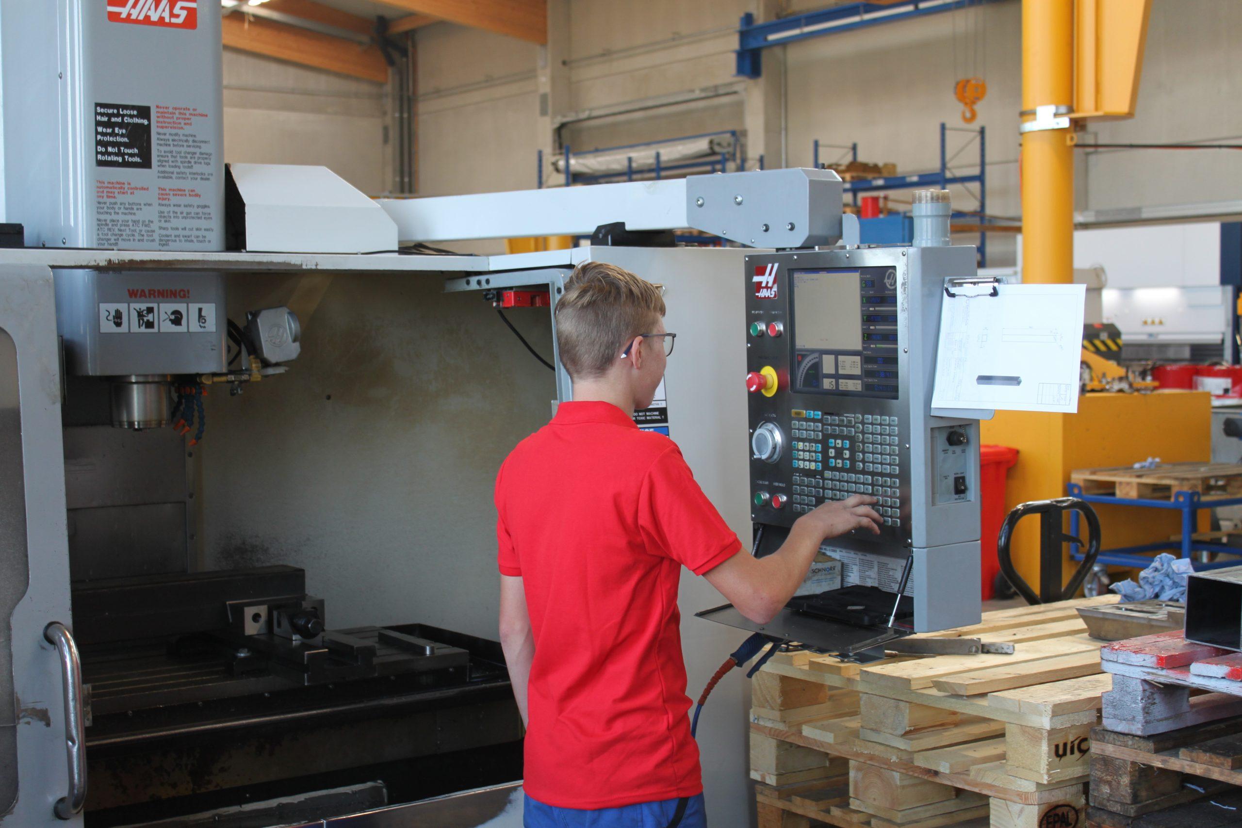 Lehrberuf Metalltechnik (m/w) mit Hauptmodul Zerspanungstechnik